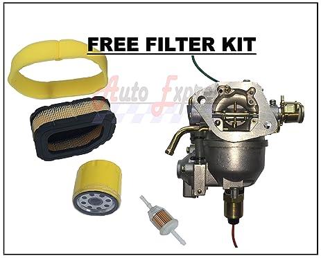 Amazon Carburetor Fits Kohler Engine Craftsman Cub 25 27 HP – Kohler Cv740 Engine Diagram