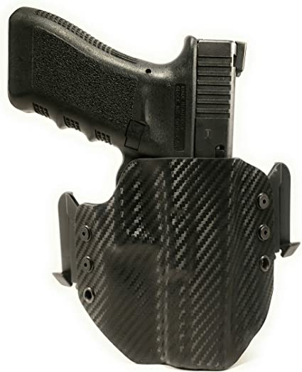 HOLSTER BLACK KYDEX FITS SIG P938 w//TLR6 W//Speed Clips