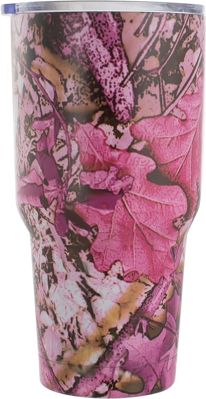 BonBon 30oz Travel Mug Vacuum Insulated Cup (Pink Camo)