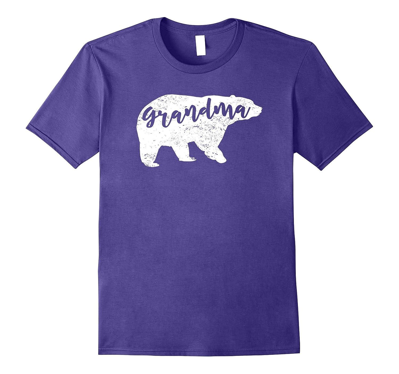 Grandma bear t-shirt Grandma life tee Distressed edition-TJ