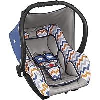 Bebê Conforto Ello até 13 kg, Tutti Baby, Azul/Laranja