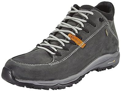 AKU Nemes FG Mid GTX Shoes Unisex Dark Grey/Black Größe 47 2016 Schuhe rGTCE7l6t