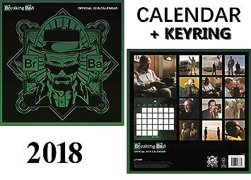 Breaking Bad oficial calendario 2018 + Breaking Bad Llavero ...