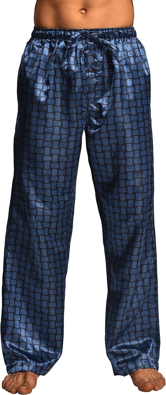 CYZ Men's Satin Pajama Pants