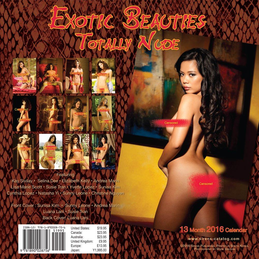 Exotic Beauties Totally Nude 2016 Calendar -- Hot Asian ...