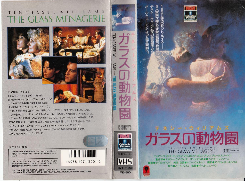 ガラスの動物園 [VHS] B00005GBJG