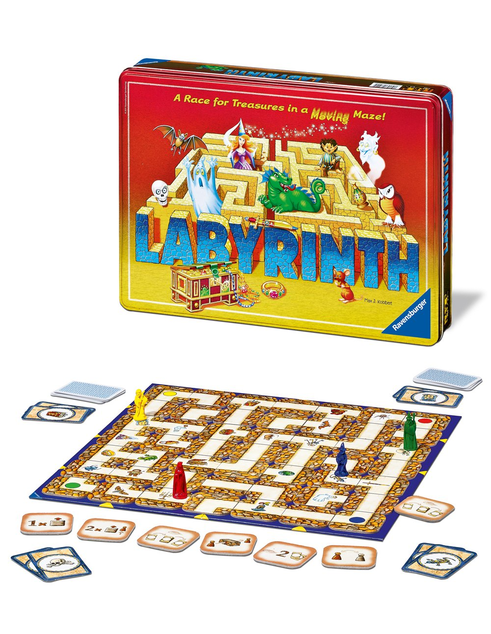 Ravensburger Labyrinth Anniversary Edition Juego familiar