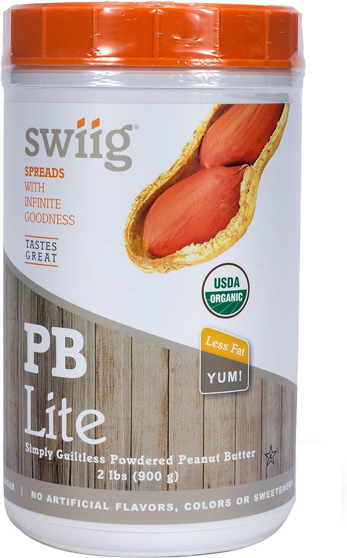 swiig Organic PB Lite- 2lbs