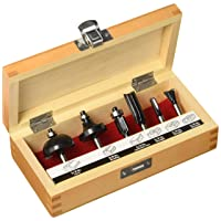 Deals on Craftsman 926004 6 Piece Router Bit Set