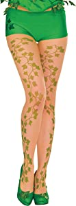 Rubie's Women's DC Comics Poison Ivy Tights, Standard/One Size, Green