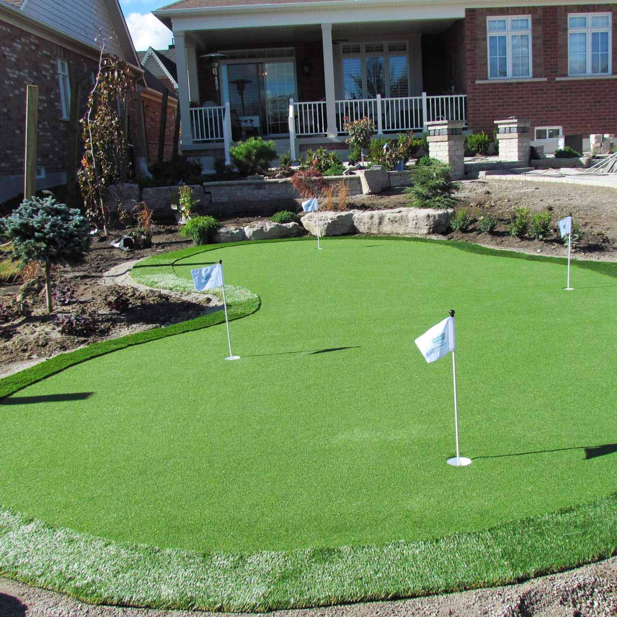 15' Golf Putting Green Artificial Turf Grass Roll (15' x 20' = 300 Sq. Ft.)