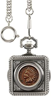 product image for American Coin Treasures Indian Penny Pocket Watch - Silver