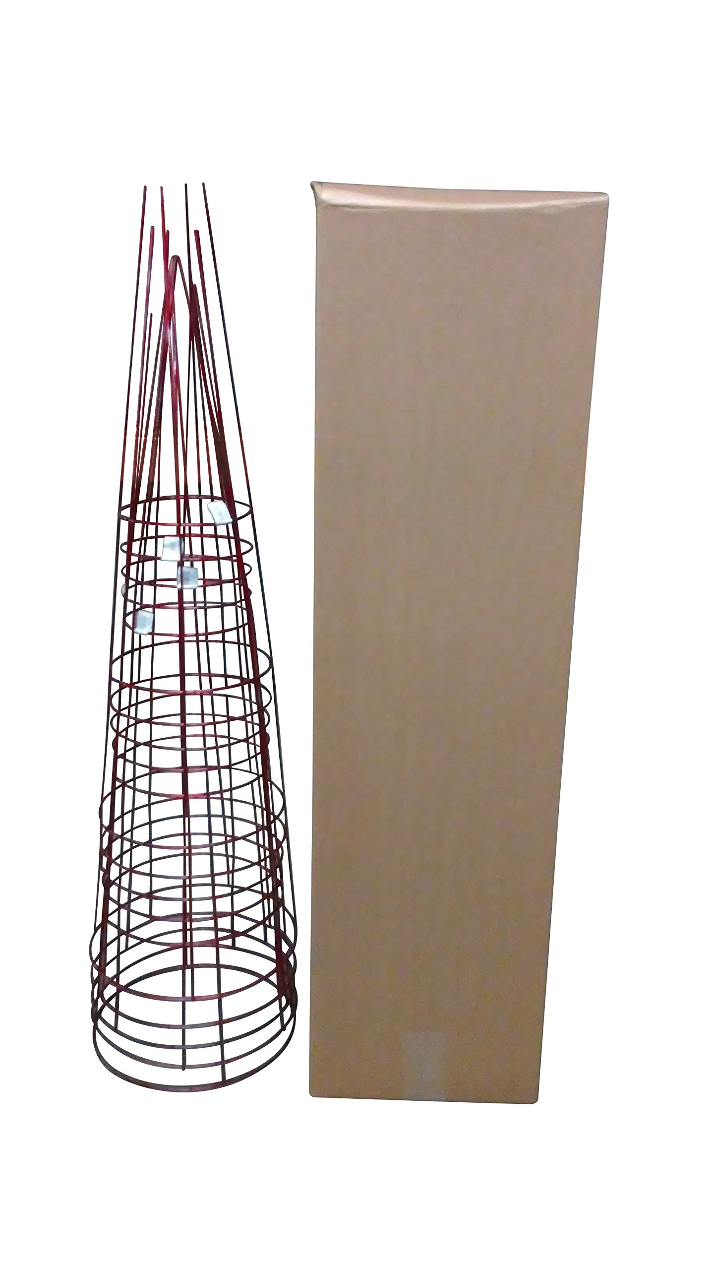 Glamos 286474 Garden Plant Support, Large/16'' x 54'', Ruby Red