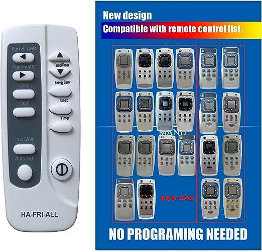 Remote Control For FRIGIDAIRE RG15D//E-ELL CRA057XT710 Room Air Conditioner