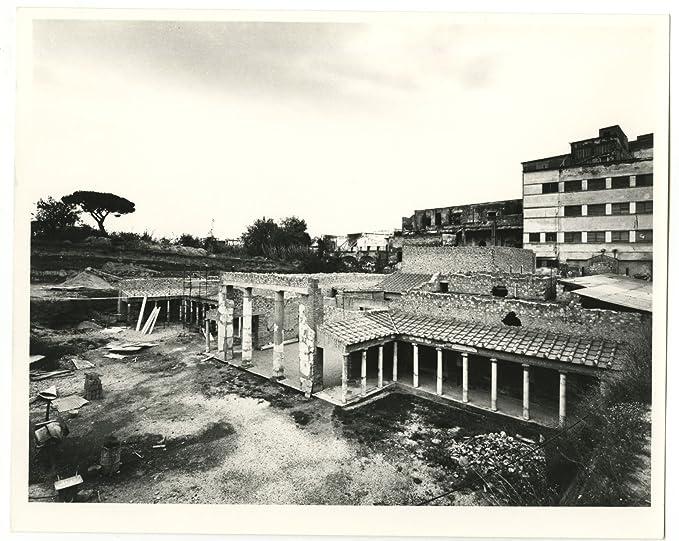 Italian Architecture, Villa Poppaea - Vintage 8x10