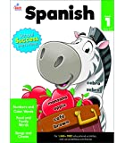 Carson Dellosa | Beginning Spanish Workbook | 1st Grade, 80pgs (Brighter Child: Grades 1)