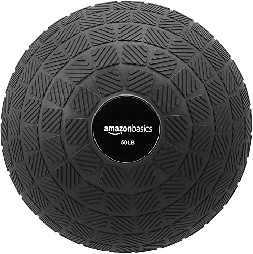 AmazonBasics Excersize Slam Ball, Square Grip