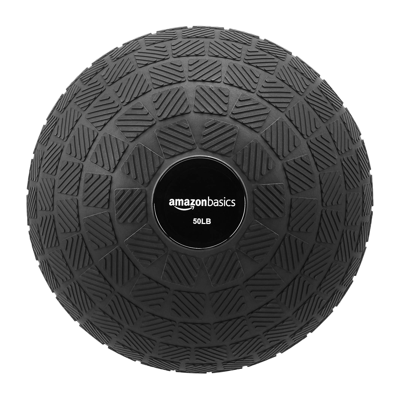 AmazonBasics Slam Ball, Square Grip, 50-Pound by AmazonBasics