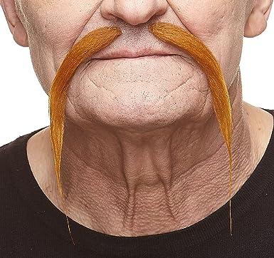 Fu Manchu Moustache Self Adhesive Chinese Mustache Costume Accessory
