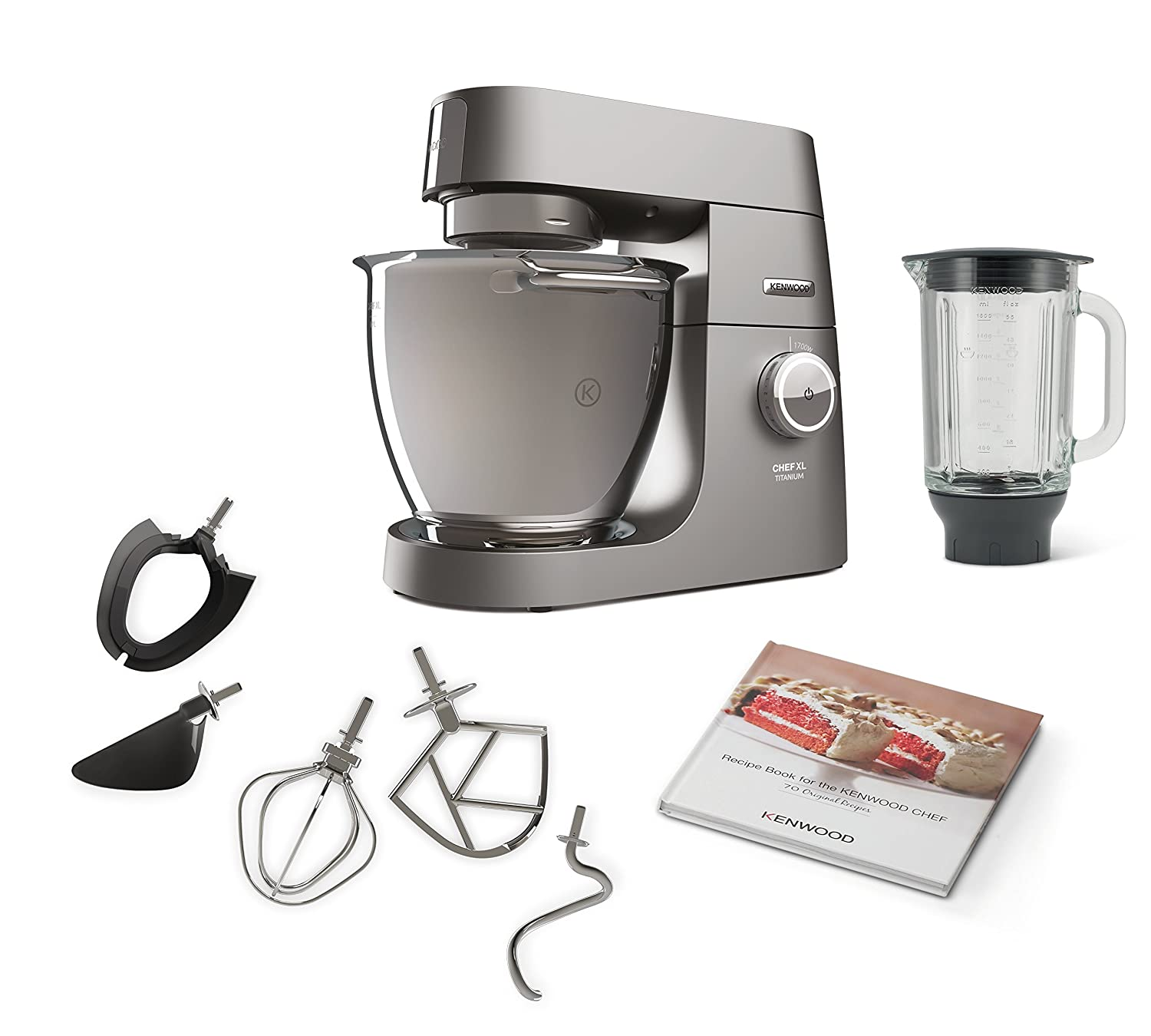 Amazon.de: Kenwood Chef XL Titanium KVL8320S Küchenmaschine (1700 W ...