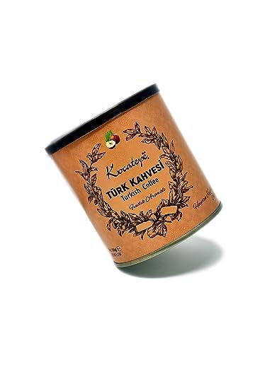 Café turco Kocatepe, con sabor a Avellana - Tradicional y Auténtico - (Café de