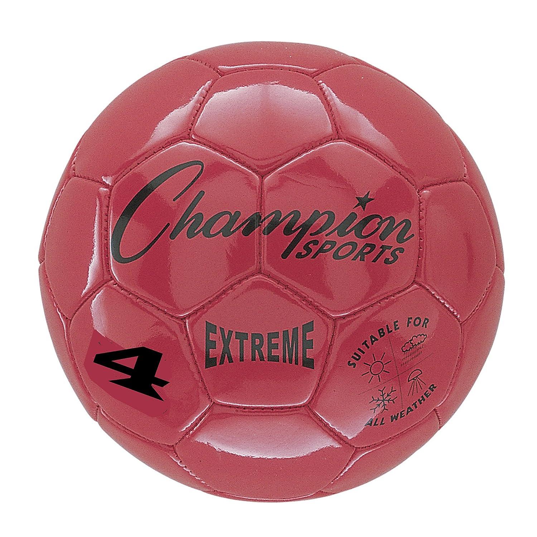 Champion Sports Extreme - Balón de fútbol, talla 4, Red, 1: Amazon ...