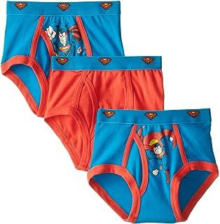 Amazon.com  2-8 Years Boys Cotton Superman Boxer Briefs Character ... e7779ef84b