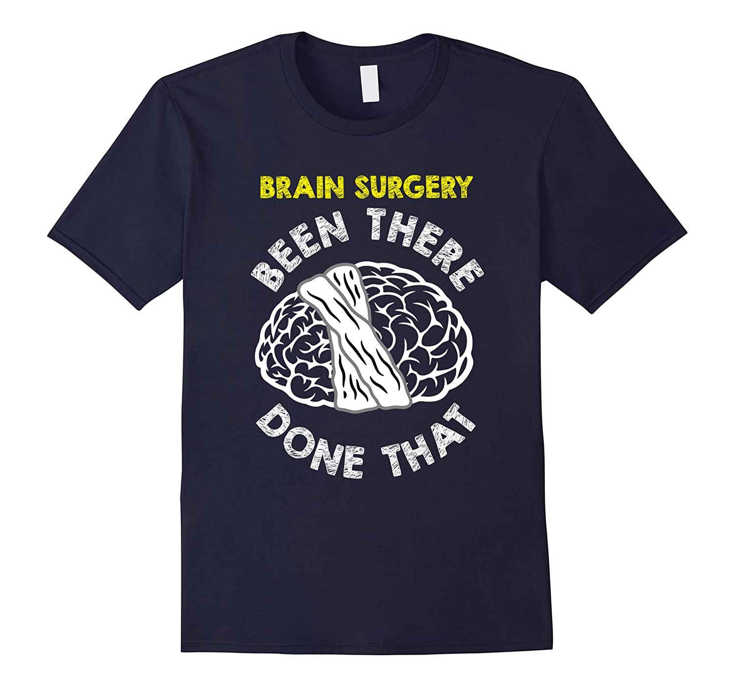 Funny Brain Surgery T-shirt Get Well Recovery Meme Gift-CD