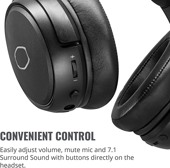 Coolermaster Mh670 Wireless Gaming Headset With Virtual Computers Accessories