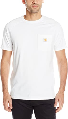 Visit the Carhartt Store Force Cotton Delmont Short Sleeve T-Shirt Camisa de utilidades de Trabajo para Hombre: Amazon.es: Amazon.es