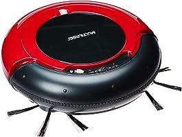 Aspirador de Pó Robô Varre + Aspira + Passa Pano Bivolt com 17W e Bateria Recarregável, Multilaser, HO041, Vermelho/Preto