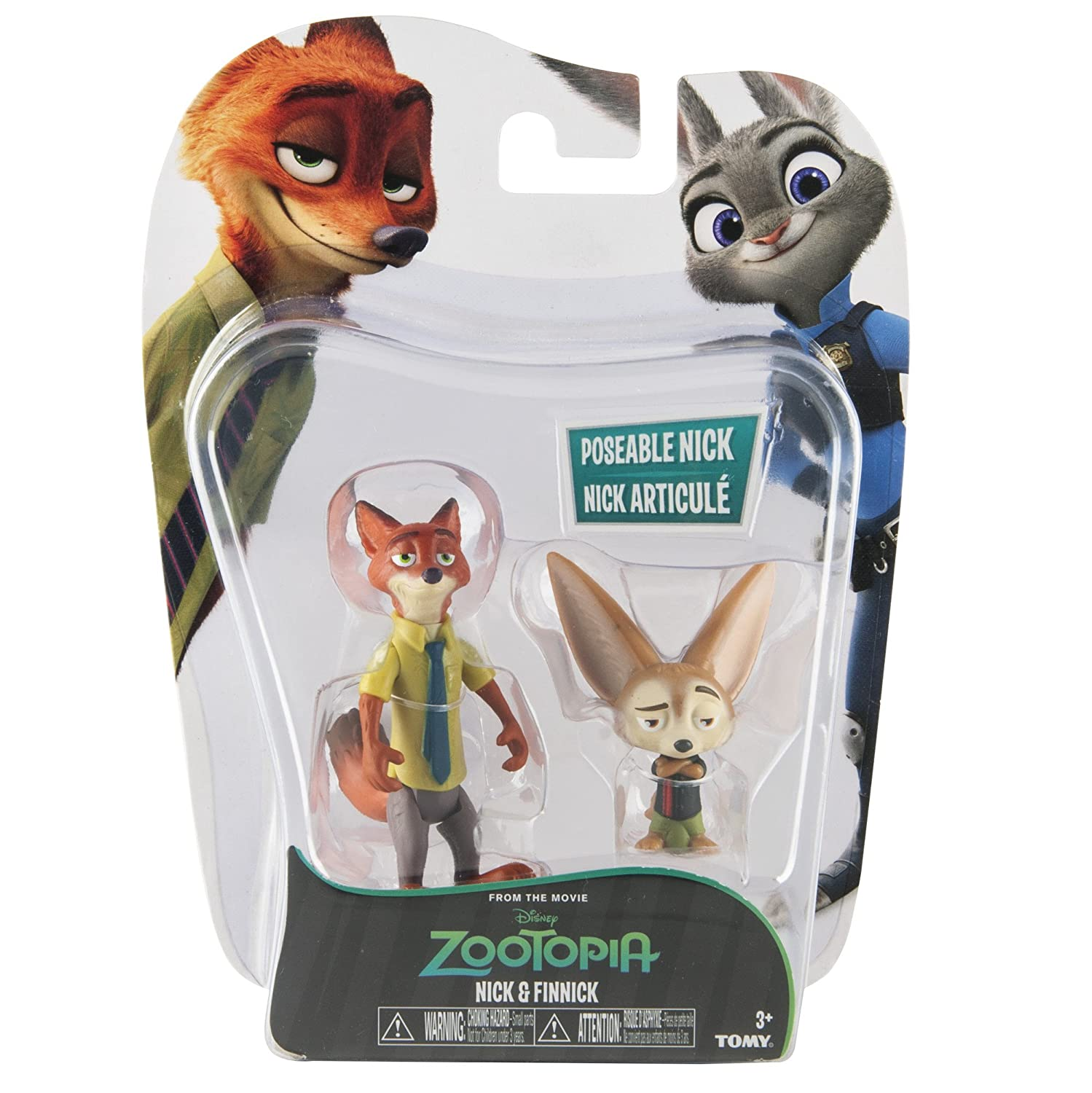 Zootopia Character Pack Nick And Finnick TOMY L70001