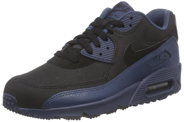 9d48485c33 Nike Men's Air Max 90 Winter PRM Running Shoes, Blau (Squadron Blue/Black),  7 UK: Amazon.co.uk: Shoes & Bags