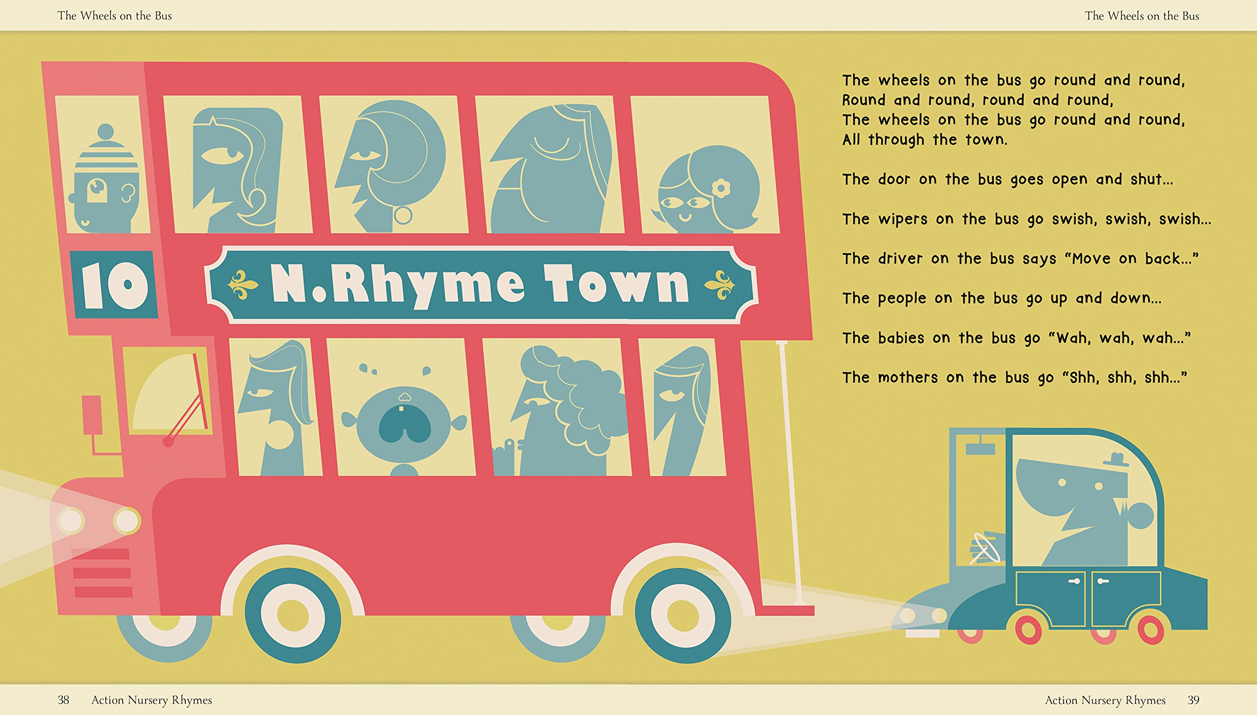 Amazon.com: My Wonderful Nursery Rhyme Collection (9781626866836 ...
