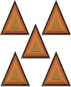Tim Holtz - Sizzix SIZZIX THINLITS DIE STCK, Stacked Tiles Triangles