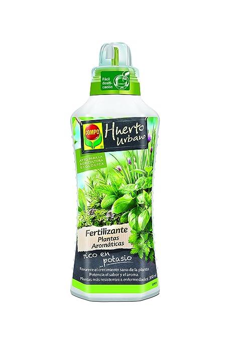 Compo 2224602011 Fertilizante Plantas Aromáticas 500 ml, 23x7x6.3 ...