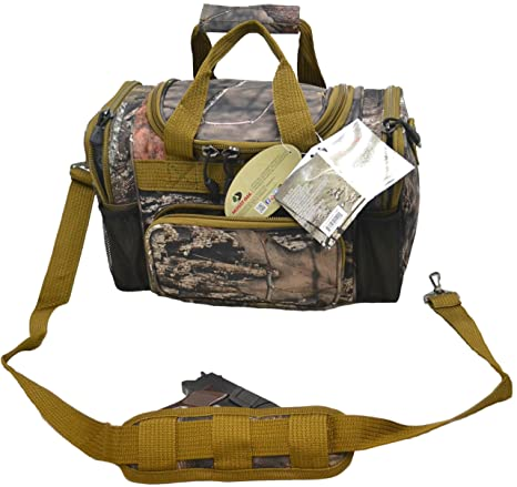 Amazon.com  Explorer Mossy Oak Realtree Like Tactical Hunting Camo Heavy  Duty Duffel Bag Luggage Travel Gear Large inch with Shoulder Straps  Sports    ... a96a17f82e8aa