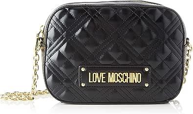 Love Moschino Jc4208pp0a, Bolsa de Mensajero para Mujer, 22x16x6 Centimeters (W x H x L)