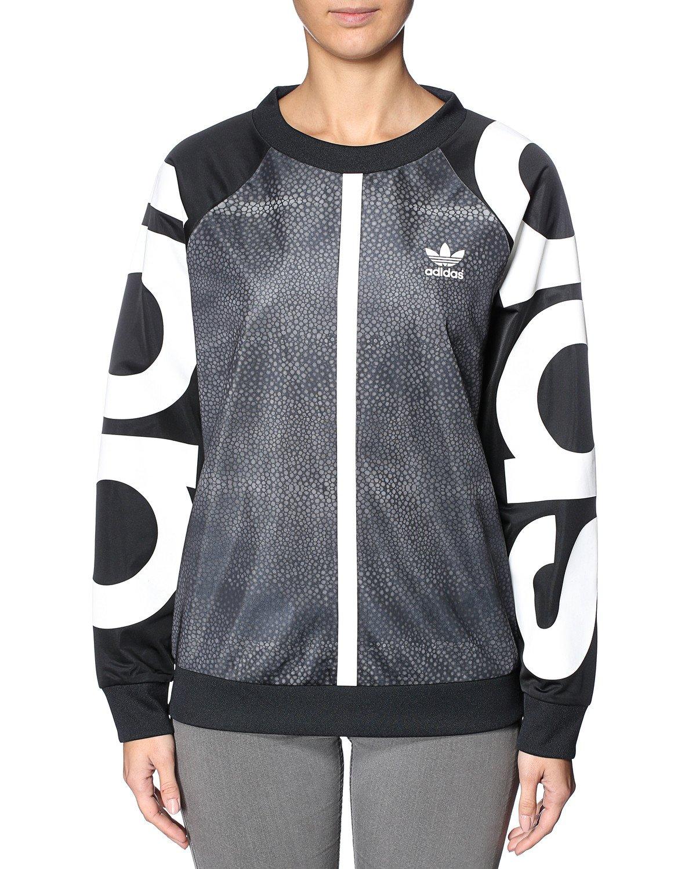adidas M Moon Sweater - Sudadera para Mujer, Color Negro: Amazon.es: Deportes y aire libre