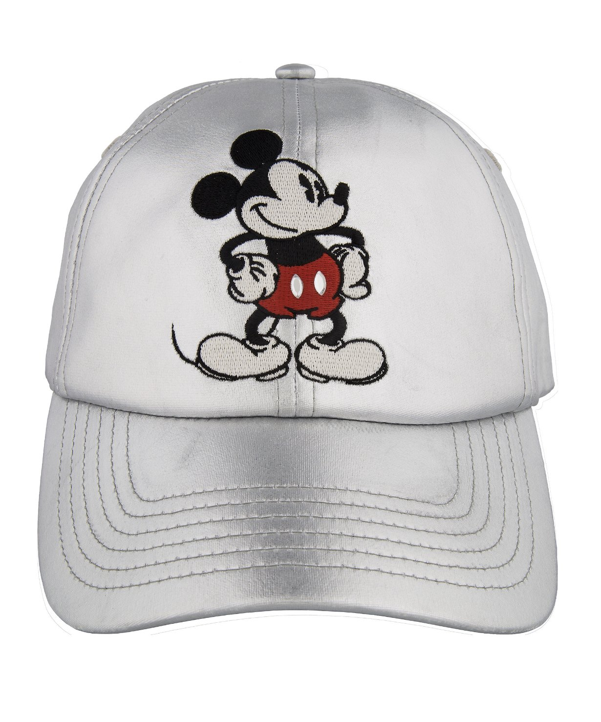 DisneyParks Mickey Mouse Satin Baseball Cap Hat