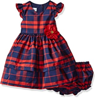 Pippa & Julie Baby Girls Flutter Sleeve Party Dress