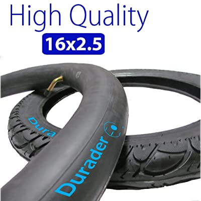 16x2.50 Inner Tube with Bent Valve Stem & Tire set for Electric Bike : Sports Scooter Wheels : Sports & Outdoors