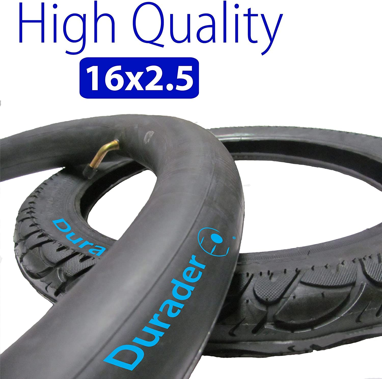 16x2.50 Inner Tube with Bent Valve Stem & Tire set for Electric Bike 81WDBiqQ2iLSL1500_