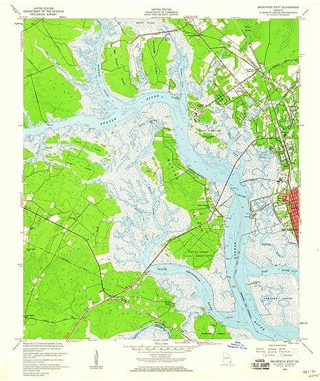 Amazon.com : YellowMaps Brunswick West GA topo map, 1:24000 ... on newnan georgia map, georgia airports map, waycross georgia map, marietta georgia map, kennesaw georgia map, madison georgia map, franklin georgia map, hinesville georgia map, savannah georgia map, atlanta georgia map, statesboro georgia map, norcross georgia map, glynn county georgia map, suwanee georgia map, macon georgia map, louisville georgia map, jacksonville georgia map, i-95 exits georgia map, decatur georgia map, hapeville georgia map,
