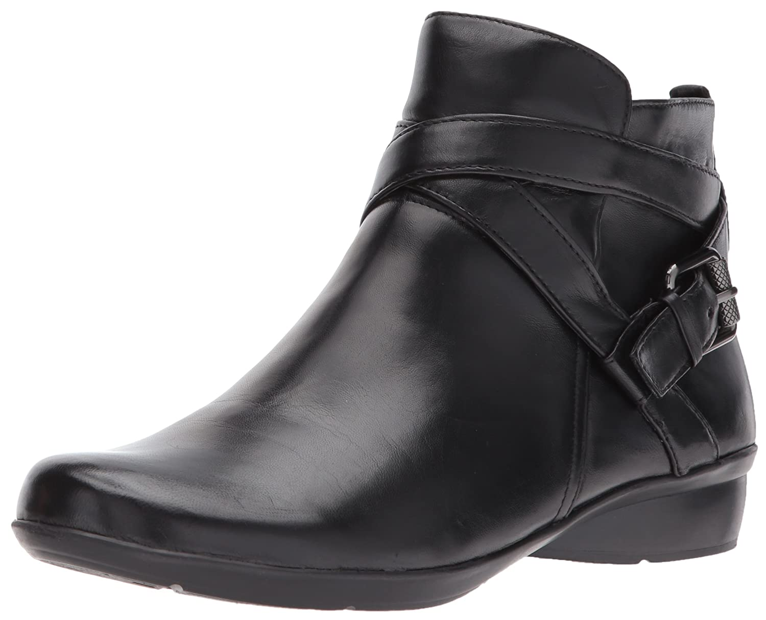Naturalizer Women's Cassandra Ankle Bootie B06WP6GFG2 8 N US|Black