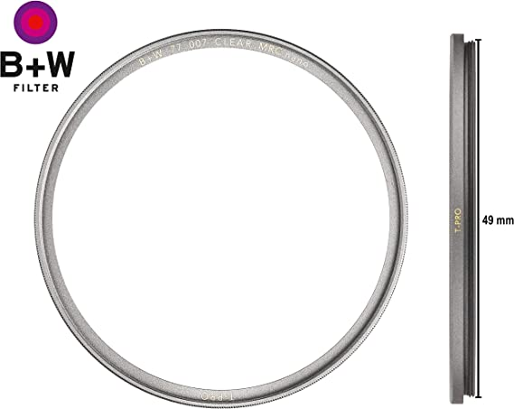 B W 007 Protective Filter Clear Filter 49 Mm T Pro Camera Photo