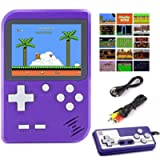 Diswoe 500 in 1 Handheld Game Console, Retro Mini Game Machine, Support Play on TV and Two players, 800mAh Rechargeable…