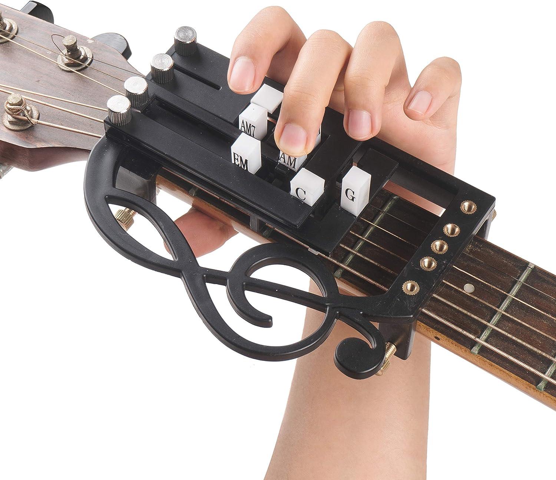WESOLO Guitarra Sistema de Aprendizaje Cuerdas de Guitarra ...