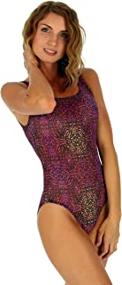 product image for Lifestyles Direct Traditional Tank Tan Through Swimwear