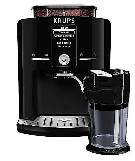 Krups EA8298 Independiente Totalmente automática Máquina espresso 1.7L Negro - Cafetera (Independiente, Máquina espresso, 1,7 L, Molinillo integrado, ...